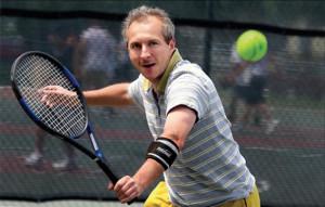 Cotovelo de tenista.